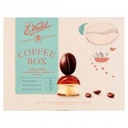 WEDEL PRALINY COFFEE BOX 100 G