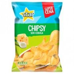 STAR CHIPSY SER I CEBULA 130 G