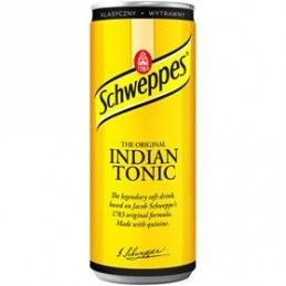 SCHWEPPES INDIAN TONIC...