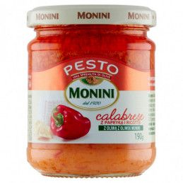 MONINI SOS PESTO CALABRESE...