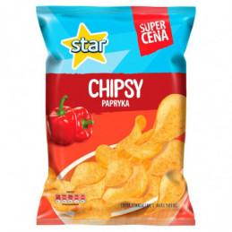 STAR CHIPSY PAPRYKA 130 G