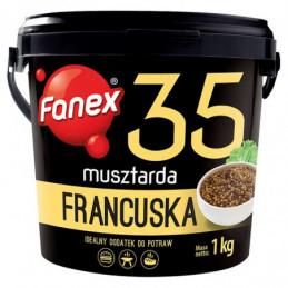FANEX MUSZTARDA FRANCUSKA 1 KG