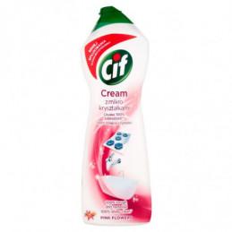 CIF CREAM PINK FLOWERS Z...