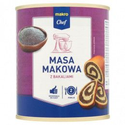 MAKRO CHEF MASA MAKOWA Z...