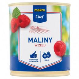 MAKRO CHEF MALINY W ŻELU 320 G