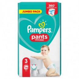 PAMPERS PANTS, ROZMIAR 3,...