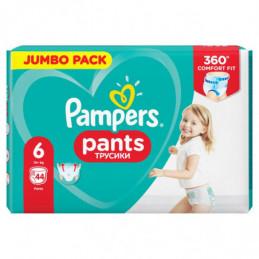 PAMPERS PANTS, ROZMIAR 6,...