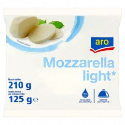 ARO SER MOZZARELLA LIGHT 125 G