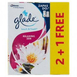 GLADE BY BRISE ONE TOUCH...