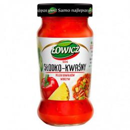 ŁOWICZ SOS SŁODKO-KWAŚNY...