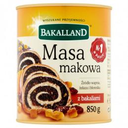 BAKALLAND MASA MAKOWA 850 G