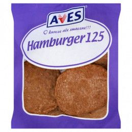 AVES HAMBURGER 125 1440 G
