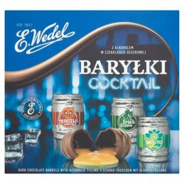 E. WEDEL COCKTAIL BARYŁKI Z...