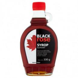 BLACK ROSE SYROP KLONOWY 330 G