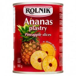 ROLNIK ANANAS PLASTRY 560 G...