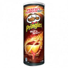 PRINGLES HOT & SPICY...