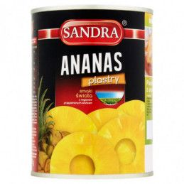 SANDRA ANANAS PLASTRY 565 G...