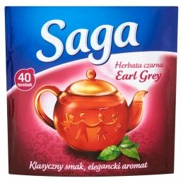 SAGA EARL GREY HERBATA...