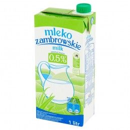 MLEKO ZAMBROWSKIE UHT 0,5%...