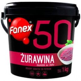 FANEX ŻURAWINA 1 KG