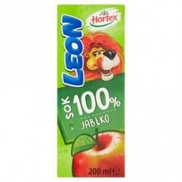 HORTEX LEON SOK 100% JABŁKO...