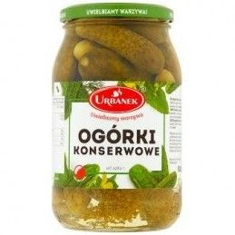 URBANEK OGÓRKI KONSERWOWE...