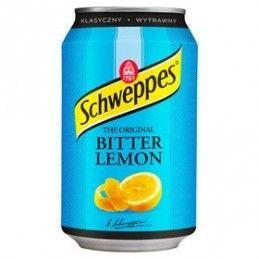 SCHWEPPES BITTER LEMON...