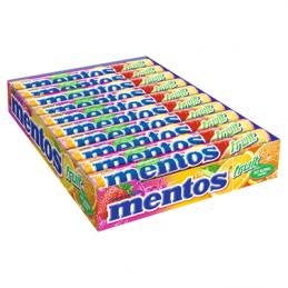 MENTOS FRUIT 38G 20 SZTUK