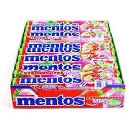 MENTOS STRAWBERRY MIX...