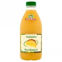 ANDROS SOK ANANASOWY 1 L