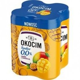 OKOCIM RAD. MANGO 0% 4X0,5L PU
